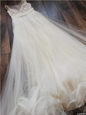 Rochie de mireasă creație Natalia Vasiliev - imagine 6