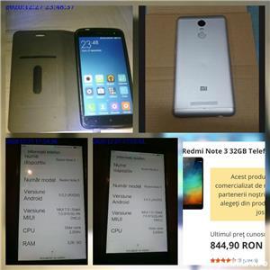 Telefon Xiaomi Redmi Note 3 32GB 3GB RAM dual SIM Octa-Core 4050mAh - imagine 1