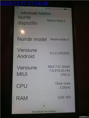 Telefon Xiaomi Redmi Note 3 32GB 3GB RAM dual SIM Octa-Core 4050mAh - imagine 5