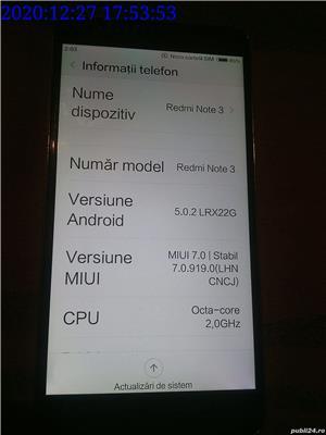 Telefon Xiaomi Redmi Note 3 32GB 3GB RAM dual SIM Octa-Core 4050mAh - imagine 4