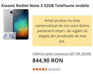 Telefon Xiaomi Redmi Note 3 32GB 3GB RAM dual SIM Octa-Core 4050mAh - imagine 6