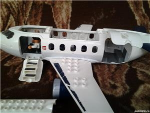 LEGO avion de pasageri jucarie copii 48 cm - imagine 4