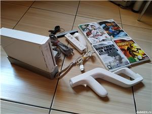 Wii: Consola Wii, accesorii originale, Wii Mote, nunchuck, Wii Zapper & jocuri dedicate! - imagine 4