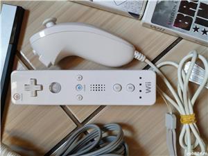 Wii: Consola Wii, accesorii originale, Wii Mote, nunchuck, Wii Zapper & jocuri dedicate! - imagine 3
