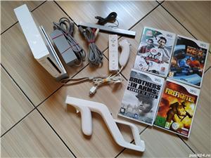 Wii: Consola Wii, accesorii originale, Wii Mote, nunchuck, Wii Zapper & jocuri dedicate! - imagine 6