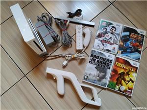 Wii: Consola Wii, accesorii originale, Wii Mote, nunchuck, Wii Zapper & jocuri dedicate! - imagine 5