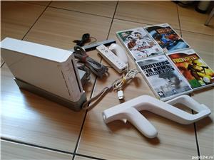 Wii: Consola Wii, accesorii originale, Wii Mote, nunchuck, Wii Zapper & jocuri dedicate! - imagine 8