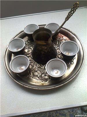 Serviciu de cafea cu 6 cescute din portelan - imagine 3