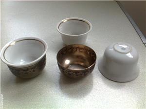 Serviciu de cafea cu 6 cescute din portelan - imagine 5