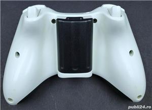Controller/Maneta/Joy-stick Black-White Original Microsoft Xbox360   - imagine 3