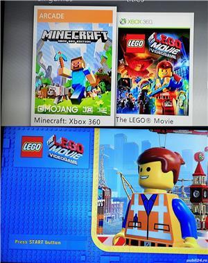 Consola Xbox360 cu Minecraft si Lego incluse in pret!   - imagine 2