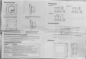 Termostat WIFI compatibil Alexa, Google home, pentru IPAT si IPEL - imagine 9