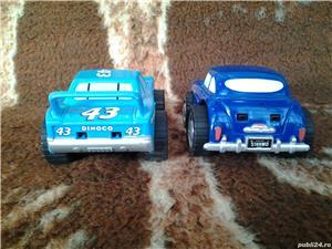 Disney Pixar Cars Dinoco + Hudson Hornet 10 cm jucarie copii - imagine 3