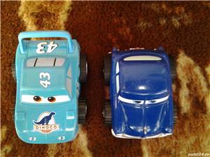 Disney Pixar Cars Dinoco + Hudson Hornet 10 cm jucarie copii - imagine 5