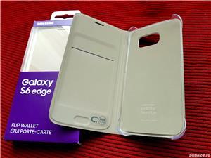 Husa Originala Flip wallet pt Samsung Galaxy S6 EDGE Noua!Activa-Carcasa - imagine 2