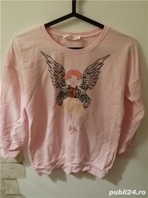 Bluza roz,peste 12 ani,stare f buna - imagine 3