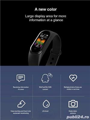 Brățară M5 Smart Fitness pentru Android si IOS  - imagine 3