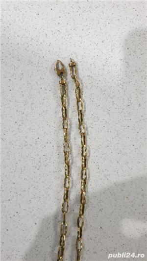 Lant de aur 14 k - imagine 3