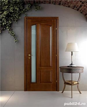 Usi interior lemn masiv - scari interioare lemn masiv - mobilier - imagine 1