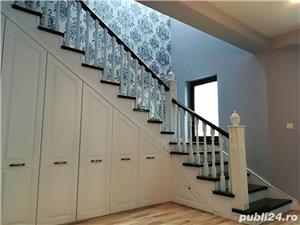 Usi interior lemn masiv - scari interioare lemn masiv - mobilier - imagine 8