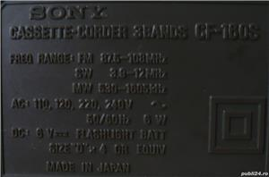 Vand radiocasetofon SONY CF-160S - imagine 8