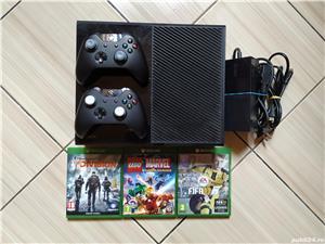 Consola Xbox, 2 controllere, peste 380 jocuri: Forza, Fortnite, Fifa 20, Minecraft, Roblox, PUBG, F1 - imagine 1