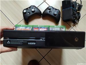 Consola Xbox, 2 controllere, peste 380 jocuri: Forza, Fortnite, Fifa 20, Minecraft, Roblox, PUBG, F1 - imagine 3