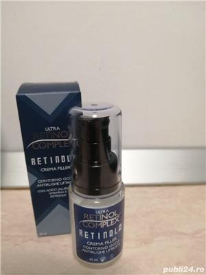 Crema filler pentru conturul ochilor cu retinol, 30 ml - imagine 1