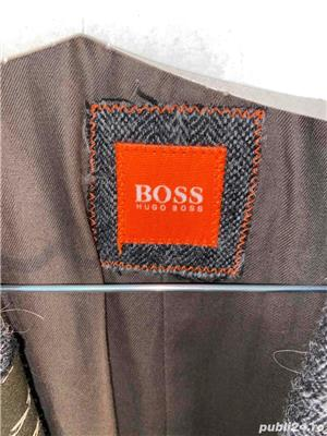 sacou superb 100%lana hugo boss original - imagine 4