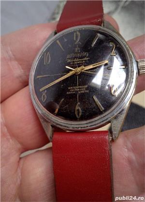 Ceas Atlantic Worldmaster Original, Cal. Unitas 6300N, 21 J - imagine 2