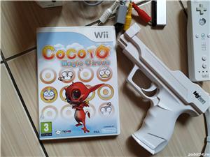 Consola Nintendo Wii completa, cu toate accesoriile & jocuri incluse! - imagine 6