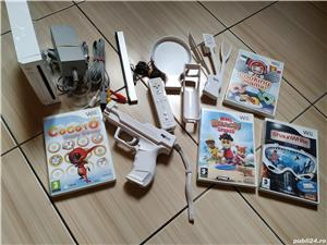 Consola Nintendo Wii completa, cu toate accesoriile & jocuri incluse! - imagine 9