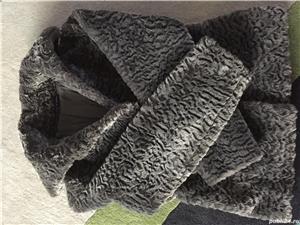Vand haina din blana sintetica-noua - imagine 7