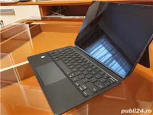 Husa de protectie Samsung Bookcover Keyboard pentru Galaxy Tab S7, Black - imagine 7