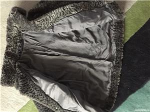 Vand haina din blana sintetica-noua - imagine 5