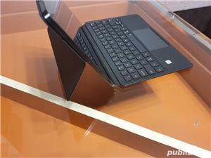 Husa de protectie Samsung Bookcover Keyboard pentru Galaxy Tab S7, Black - imagine 5