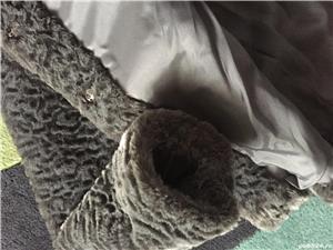 Vand haina din blana sintetica-noua - imagine 6