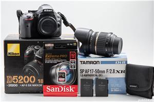 Nikon D5200 + Tamron 17-50 F/2.8 - imagine 1