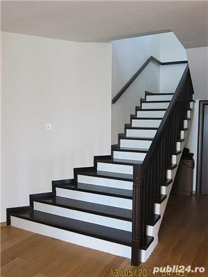 Usi interior lemn masiv - scari interioare lemn masiv - mobilier - imagine 9