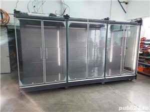 Raft frigorific cu uși de sticlă pentru băuturi/carne și mezeluri  - imagine 1