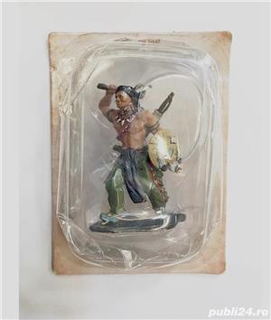 4 Figurine din Plumb - Indieni Vestul Sălbatic - imagine 5