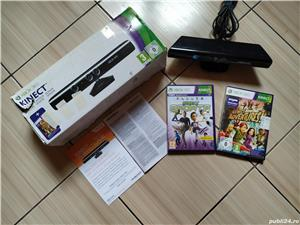 Xbox 360: Kinect Xbox 360 la cutie + jocurile Adventures & Sports - imagine 1