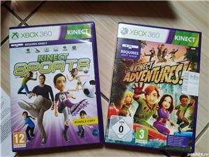 Xbox 360: Kinect Xbox 360 la cutie + jocurile Adventures & Sports - imagine 3