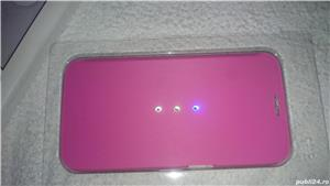 Husa telefon samsung S6 G920F white diamonds cristale swarovski roz 2 - imagine 1