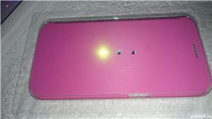 Husa telefon samsung S6 G920F white diamonds cristale swarovski roz 2 - imagine 6