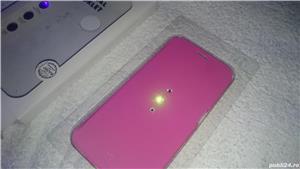 Husa telefon samsung S6 G920F white diamonds cristale swarovski roz 2 - imagine 5