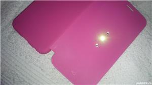 Husa telefon samsung S6 G920F white diamonds cristale swarovski roz 2 - imagine 8