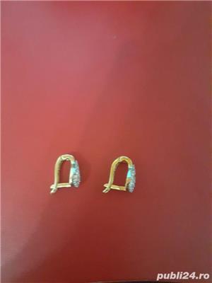cercei de aur - imagine 3