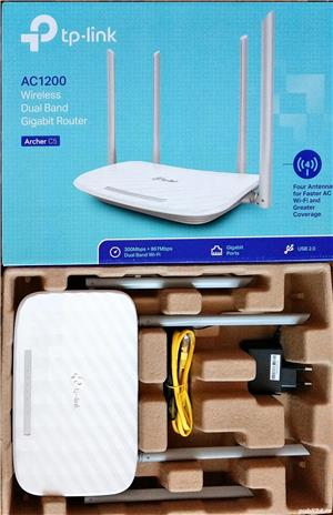 Router wireless TP-LINK Archer C5 V4.0 AC1200 Wireless Dual Band - imagine 1