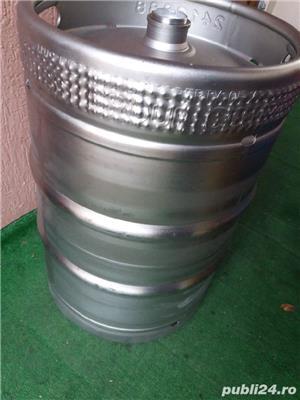 butoaie bere inox 60 l - imagine 1